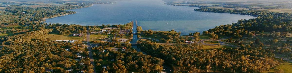 Aerial View of Owasco Lake INT by Bill Hecht