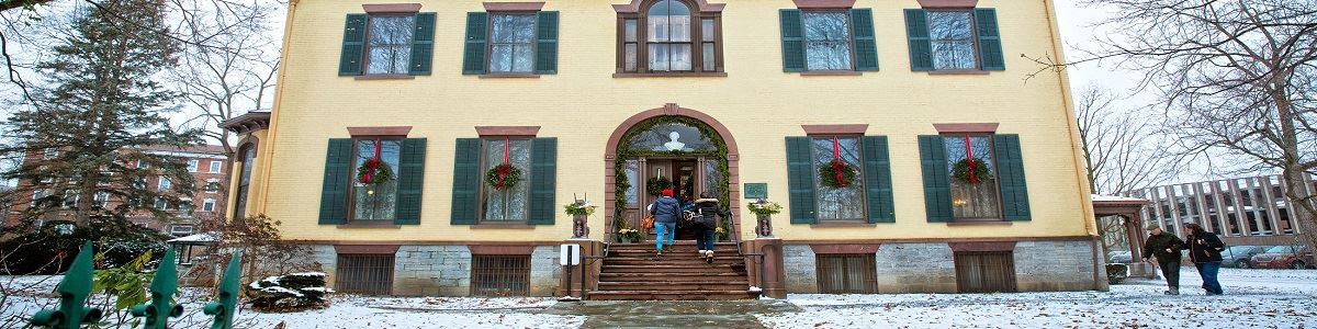 Seward House during the Holidays INT by Cayuga County Tourism Office