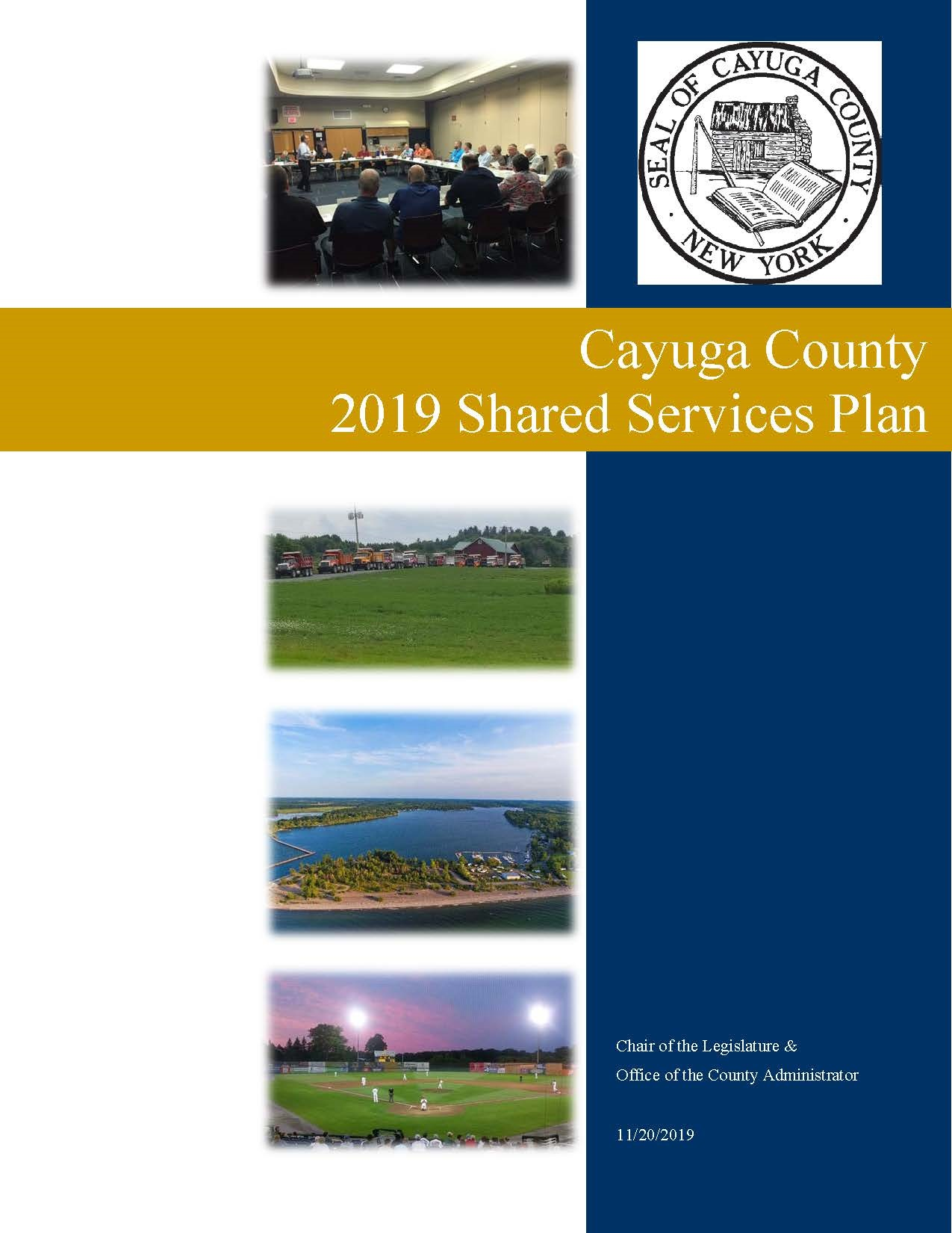 2019 Shared Services Plan Cover