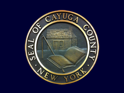 County Seal with dark background