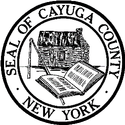 Seal of Cayuga County New York