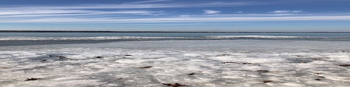 Ice on Owasco Lake INT by Jesse Eshkol
