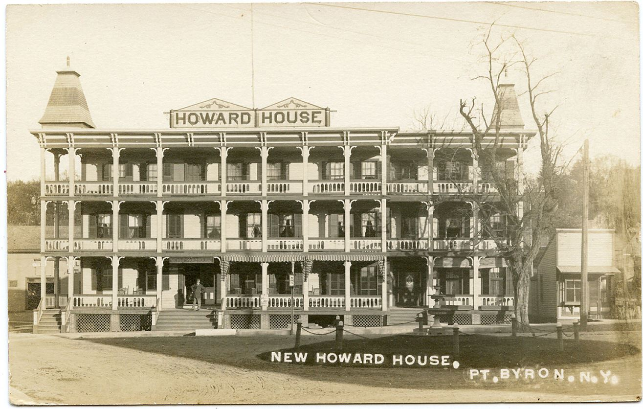 The Howard House was an elegant Hotel